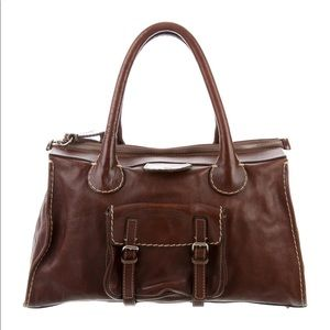 CHLOE Edith Satchel Large